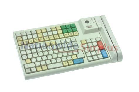 Wincor Nixdorf Pos Keyboard 1750022320 Card Swipe 10-key
