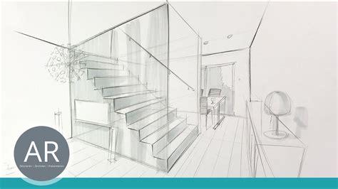 Perspektivisch Zeichnen Lernen by Innenarchitektur Zeichnungen R 228 Ume Perspektivisch