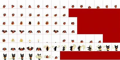 Sheet Cookie Devil Run Spriters Resource Sheets