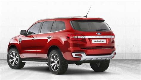 ford everest suv concept revealed is this the new