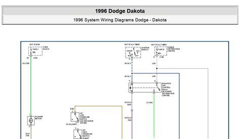 Pdf Online Dodge Dakota System Wiring Diagrams