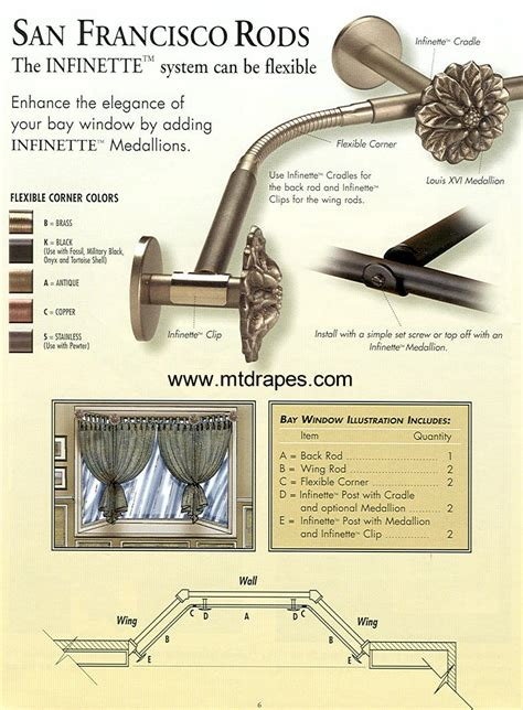 bay window curtain rods u0026 corner window curtain bay window corner connector hardware interior superb bay