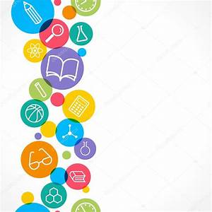 Vector seamless background. Science and education concept ...