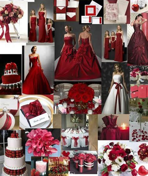 red wedding ideas red wedding decoration ideas match your