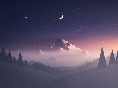 Animated Mountain Wallpaper - mountain by mrusta dribbble dribbble