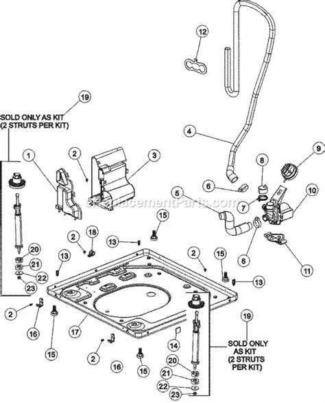 Maytag Residential Washer Favaww Ereplacementparts