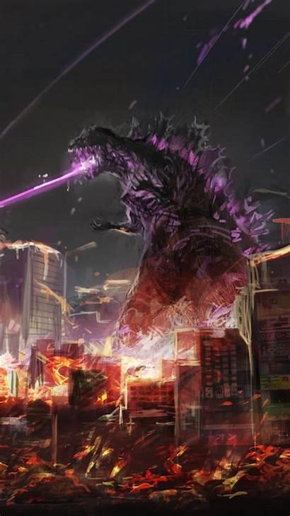 Godzilla Fan Wallpapers Iphone 4k Pixel Artwork