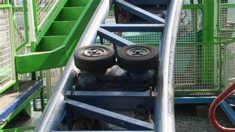 Teststrecke Roller Coaster From Ferris Wheel Of