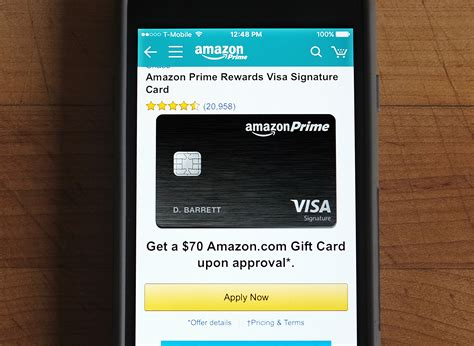 The amazon prime rewards visa signature card offers 5% cash back on amazon purchases, 2% back at restaurants, gas stations and drugstores; Should You Get the New Amazon Prime Credit Card?