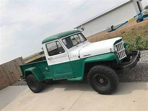 1953 Willys Pickup 4x4 Project For Sale