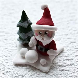 Pere Noel Decoration : p re no l d coration de table christmas ornament p te polym re fimo polymer clay ~ Melissatoandfro.com Idées de Décoration