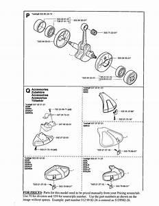 Crankshaft Diagram  U0026 Parts List For Model 323r Husqvarna