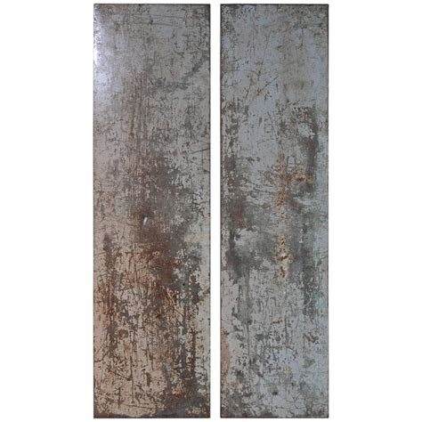 vintage architectural metal wall decor panels at 1stdibs