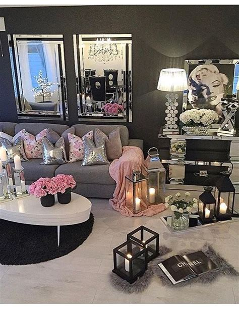 Girly Living Room by For My Girly Room Or Office Bedroom Ideas Home Decor