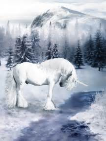 Winter Unicorn Pegasus