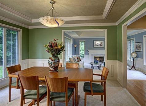 Most Popular Dining Room Paint Colors by Green Dining Room Color Trends 2015 7 Popular Hues