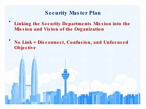 physical security assessment With security master plan template