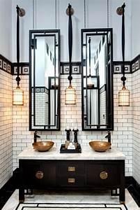 Deco Noir Et Blanc : je veux une salle de bain art d co d co clem ~ Melissatoandfro.com Idées de Décoration