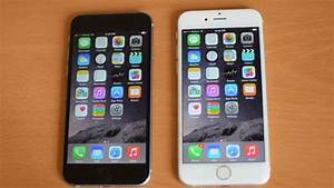 iPhone 6 white versus black hands-on - YouTube