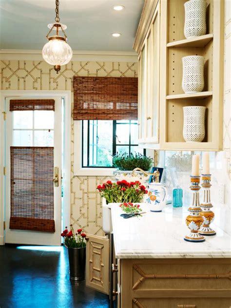 cottage kitchen wallpaper photo page hgtv 2662