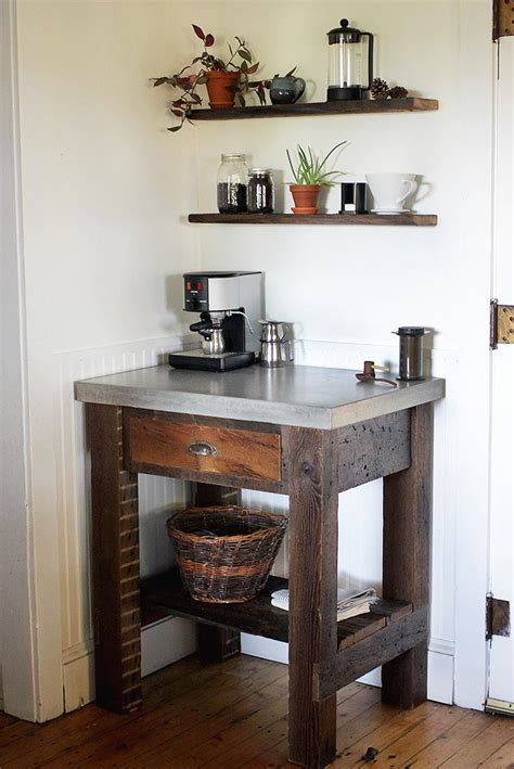 Coffee Bar Furniture by Cool Beans Coffee Bar Diyideacenter