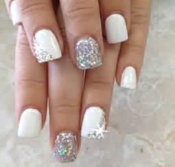 Latest glitter nail designs pretty
