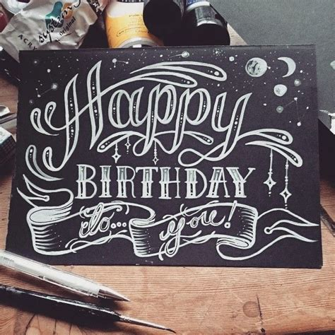 16 best images about happy birthday typography on pinterest paper cards and typography