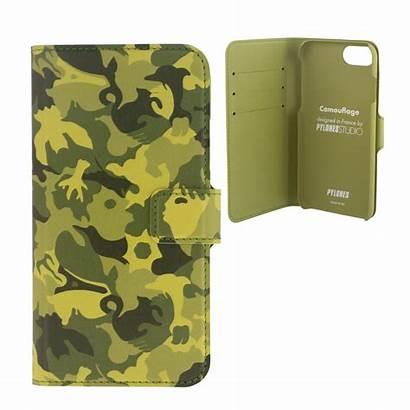 6s Iwallet Flap Estampe Iphone Case Wallet