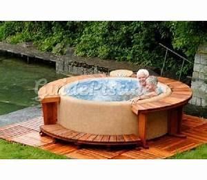 Spa En Bois Pas Cher : entourage bois spa ~ Premium-room.com Idées de Décoration