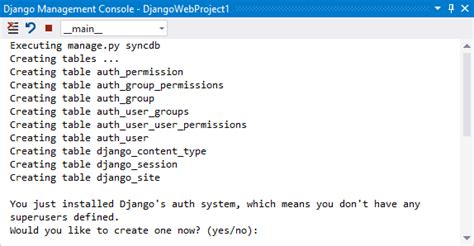 Modelo De Projeto Web Do Django Para O Python No Visual
