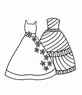 Coloring Dresses Pages Princess Sheets Polka Dot Bow sketch template