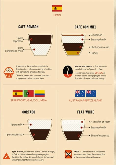 infographic   ways  preparing coffee