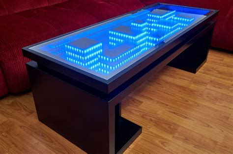 You'll Fall For This Homemade Cityscape Coffee Table