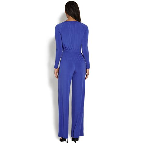 wrap jumpsuit front wrap jumpsuit shoedazzle