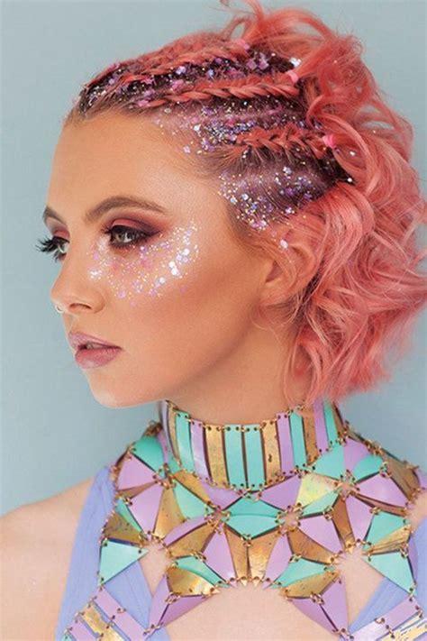 top  penteados   carnaval  glitter lista mulher