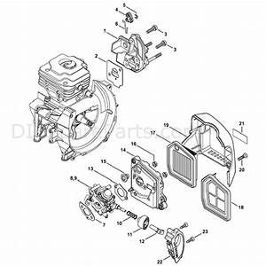 Stihl Fs 360 Clearing Saw  Fs360c  Parts Diagram  Spacer