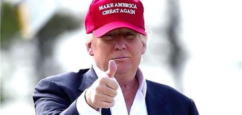 donald trump thumbs  conservative news  wing