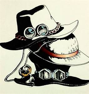 Ace, Luffy and Sabo's hats | One Piece | One Piece ...