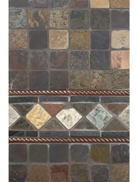 buy  mixed slate mosaic tumbled wallandtilecom