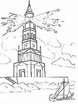 Lighthouse Coloring Ausmalbilder Leuchtturm Printable Mycoloring Malvorlagen Ausdrucken Kostenlos Zum sketch template