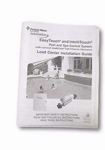 Pentair Load Center Manual Installation Guide For