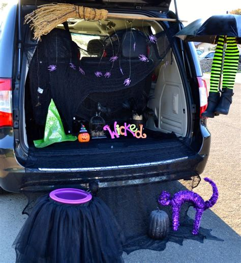trunk  treat witch ideas google search trunk