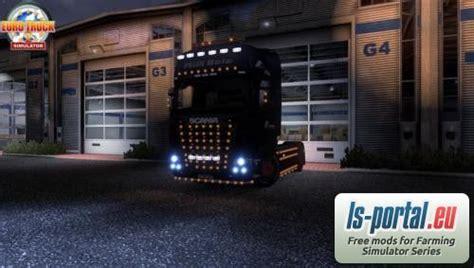 scania additional lighting ets mod mod  euro truck