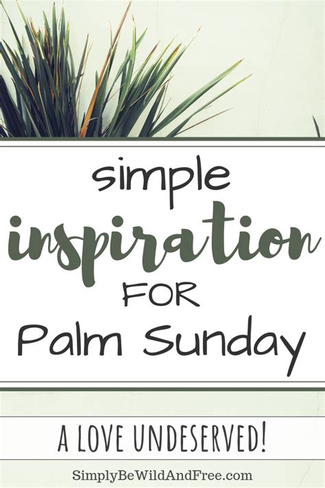 Easter Devotions Series Palm Sunday Palm Sunday Lesson
