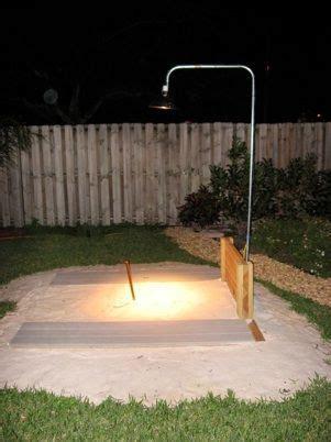 Horseshoe Pit Dimensions Backyard - backyard horseshoe pit ideas useful tell your