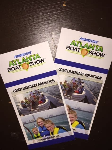 Atlanta Boat Show Free Tickets by Win 4 Tickets To The Atlanta Boat Show Ends 1 14