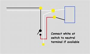 Wiring - Power To Light Then Switch - Electrical