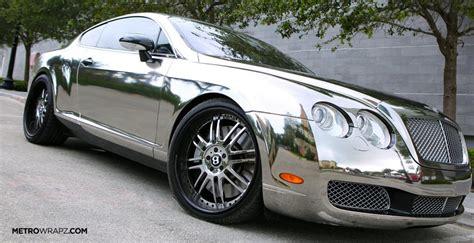 Chrome Bentley By Metro Wrapz [video]