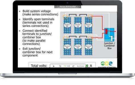 solar training solar electric design  installation