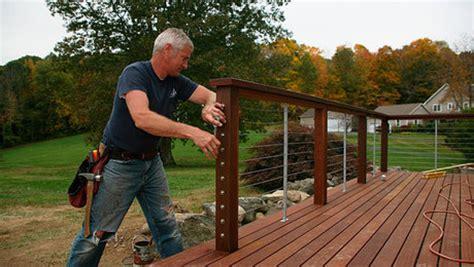 ultimate deck build  cable railings fine homebuilding